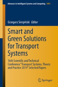 Cover Smart and Green Solutions for Transport Systems