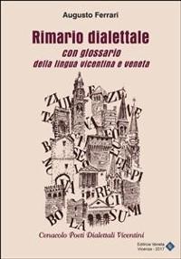 Cover Rimario dialettale con glossario della lingua vicentina e veneta