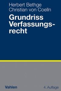 Cover Grundriss Verfassungsrecht