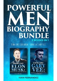 Cover Powerful Men Biography Bundle: 2 Books in 1