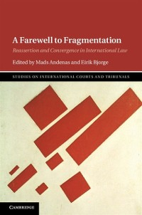 Cover Farewell to Fragmentation