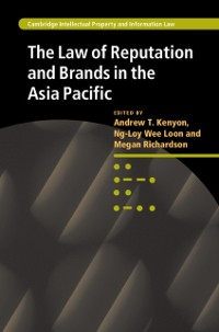 Cover Law of Reputation and Brands in the Asia Pacific