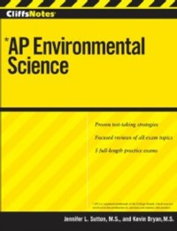 Cover CliffsNotes AP Environmental Science with CD-ROM
