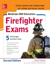 Cover McGraw-Hill Education Firefighter Exam, 2nd Edition