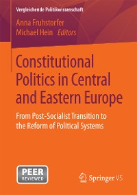 Cover Constitutional Politics in Central and Eastern Europe