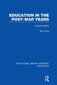 Cover Education in the Post-War Years