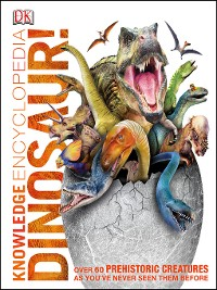 Cover Knowledge Encyclopedia Dinosaur!