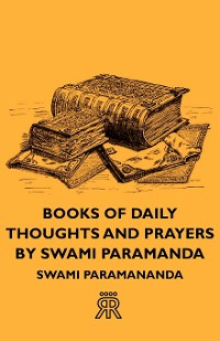 Cover Books of Daily Thoughts and Prayers by Swami Paramanda