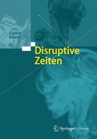 Cover Disruptive Zeiten