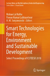 Cover Smart Technologies for Energy, Environment and Sustainable Development