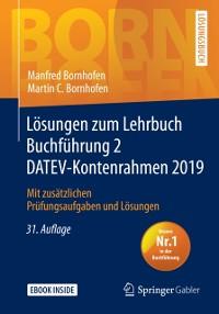 Cover Losungen zum Lehrbuch Buchfuhrung 2 DATEV-Kontenrahmen 2019