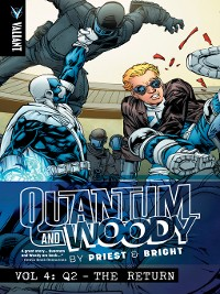 Cover Quantum and Woody by Priest & Bright, Volume 4