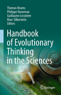 Cover Handbook of Evolutionary Thinking in the Sciences