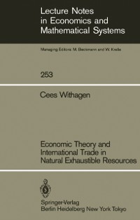 Cover Economic Theory and International Trade in Natural Exhaustible Resources