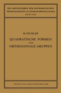 Cover Quadratische Formen und Orthogonale Gruppen