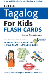 Cover Tuttle Tagalog for Kids Flash Cards Kit Ebook