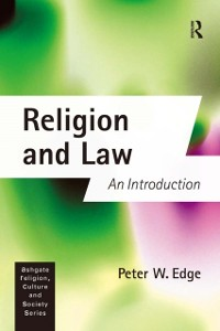 Cover Religion and Law