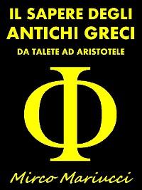 Cover Il Sapere degli Antichi Greci