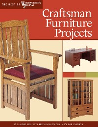Cover Craftsman Furniture Projects (Best of WWJ)