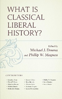 Cover What Is Classical Liberal History?
