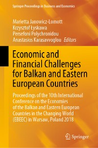 Cover Economic and Financial Challenges for Balkan and Eastern European Countries