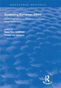 Cover Governing European Cities