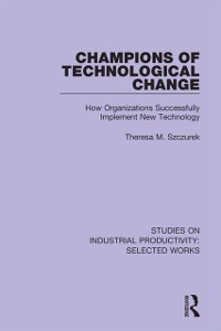 Cover Champions of Technological Change
