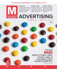 Cover ISE eBook Online Access for Arens M Advertising