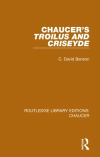 Cover Chaucer's Troilus and Criseyde