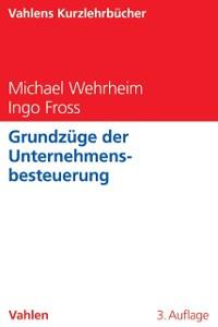 Cover Grundzüge der Unternehmensbesteuerung