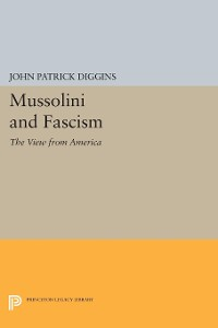 Cover Mussolini and Fascism