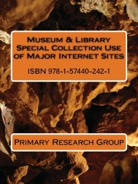 Cover Museum & Library Special Collection Use of Major Internet Sites