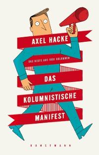 Cover Das kolumnistische Manifest