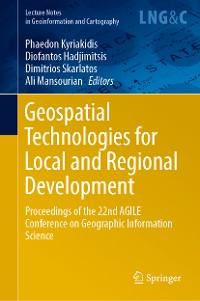 Cover Geospatial Technologies for Local and Regional Development