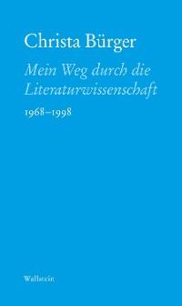 Cover Mein Weg durch die Literaturwissenschaft