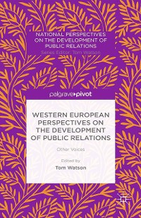 Cover Western European Perspectives on the Development of Public Relations