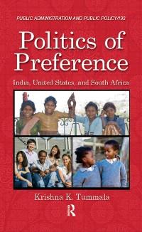 Cover Politics of Preference