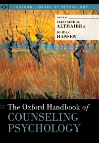 Cover Oxford Handbook of Counseling Psychology
