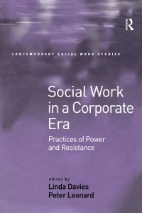 Cover Social Work in a Corporate Era