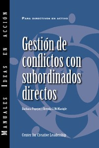Cover Managing Conflict with Direct Reports (International Spanish)