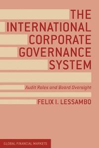 Cover The International Corporate Governance System