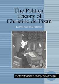 Cover Political Theory of Christine de Pizan