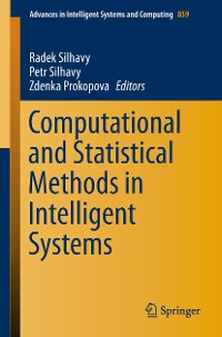 Cover Computational and Statistical Methods in Intelligent Systems