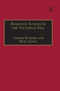 Cover Romantic Echoes in the Victorian Era