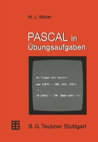 Cover PASCAL in Ubungsaufgaben