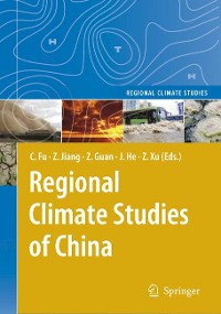 Cover Regional Climate Studies of China