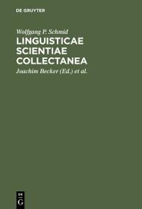 Cover Linguisticae Scientiae Collectanea