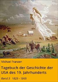 Cover Tagebuch der Geschichte der USA des 19. Jahrhunderts