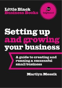 Cover Little Black Business Books - Setting Up and Growing Your Business