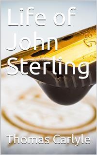 Cover Life of John Sterling